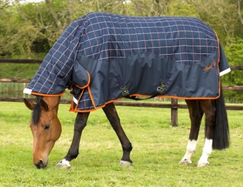 Mark Todd Lightweight Turnout Rug Navy/Beige