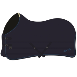 Mark Todd Quilted Lightweight Stable Rug Navy/Royal