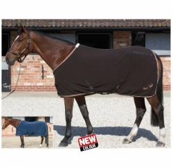 Mark Todd Fleece Rug Chocolate/Caramel