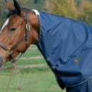 Mark Todd Lightweight Turnout Neck Cover Navy